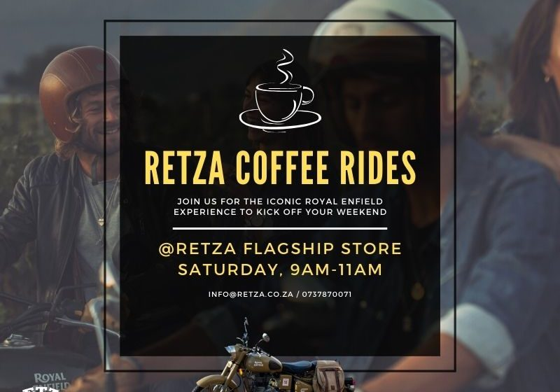 2021 RETZA Saturday Coffee Rides @RETZA INSTA