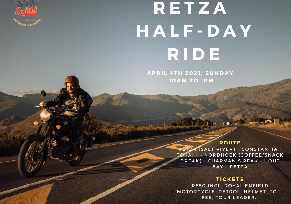 RETZA Half Day Ride